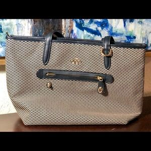 Coach Fabric Tote/Shoulder Bag